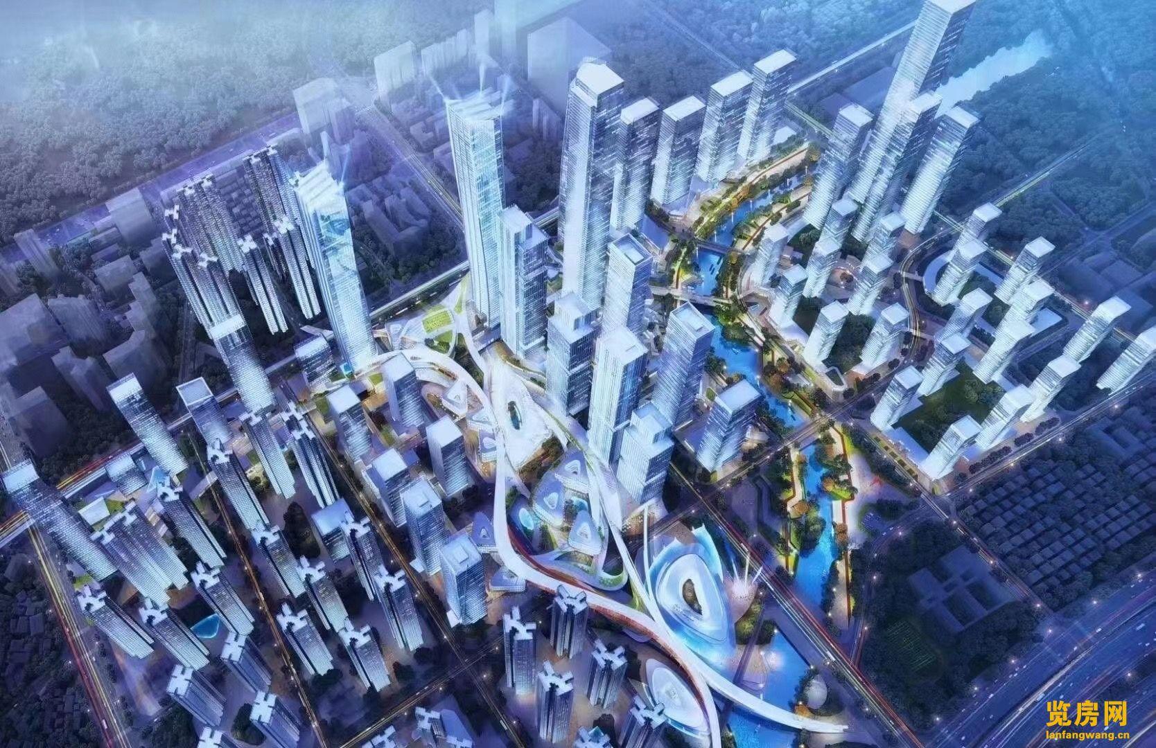 龙岗双地铁口物业地段最好的指标房《中海旧改》总价53万起!