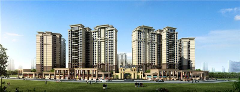 长安中心4栋村委统建楼【畔山悦峰】4栋400户带地下停车场